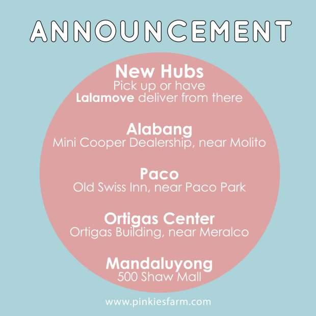 New hubs