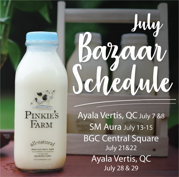 Bazaar Schedule - July