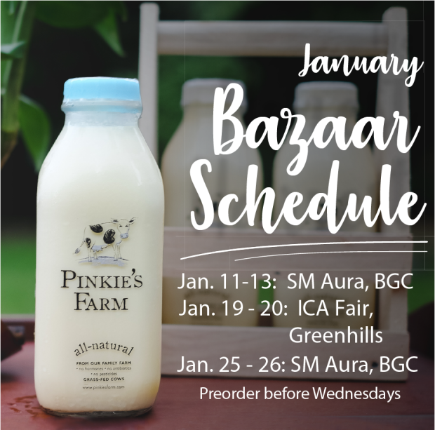 PF Bazaar Schedule January